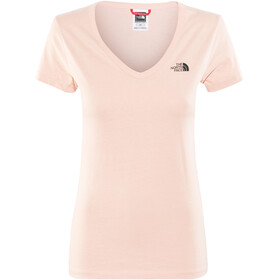 The North Face Simple Dome SS Tee Women Misty Rose